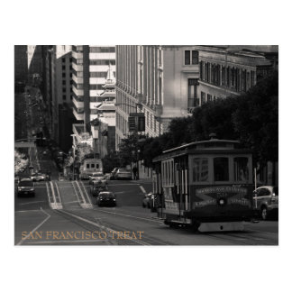 San Francisco Treat Postcard