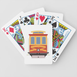 San Francisco Trolley Bicycle Playing Cards