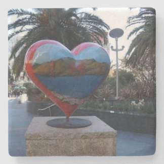 San Francisco Union Square Heart Coaster