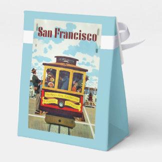 San Francisco USA Vintage Travel favor box