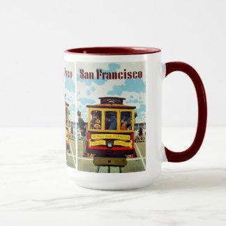 San Francisco USA Vintage Travel mugs