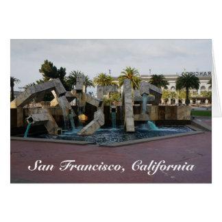 San Francisco Vaillancourt Fountain #2 Card