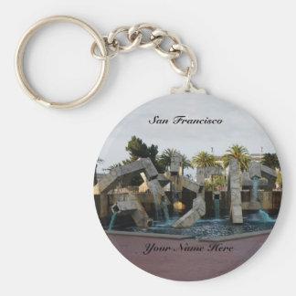 San Francisco Vaillancourt Fountain #2 Keychain
