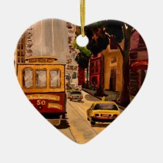 San Francisco Van Ness Cable Car Ornament