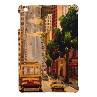 San Francisco Van Ness Cable Car iPad Mini Covers