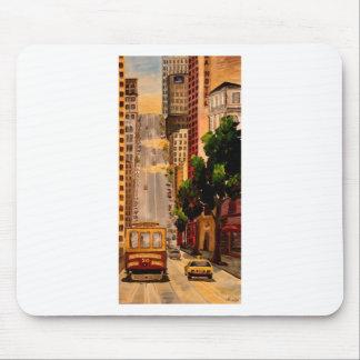 San Francisco Van Ness Cable Car Mouse Pad