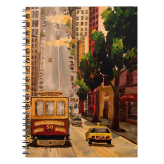 San Francisco Van Ness Cable Car Note Books