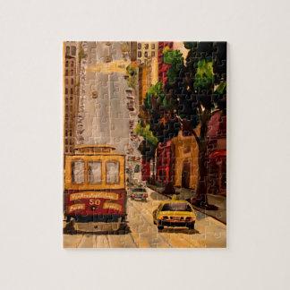 San Francisco Van Ness Cable Car Puzzles