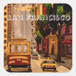 San Francisco Van Ness Cable Car Sticker
