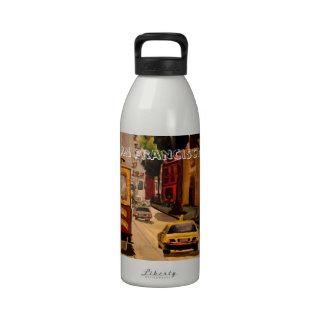 San Francisco Van Ness Cable Car Reusable Water Bottle