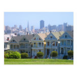 San Francisco Victorian Row Postcards