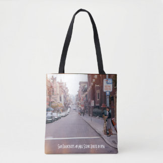 San Francisco Vintage Style Tote