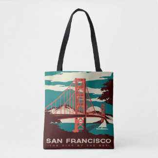 San Francisco Vintage Style Tote bag