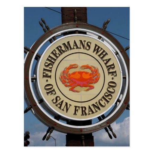 San Francisco Warf Post Card