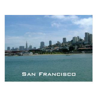 San Francisco Waterfront Post Card