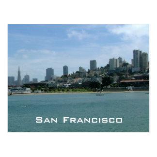 San Francisco Waterfront Postcard