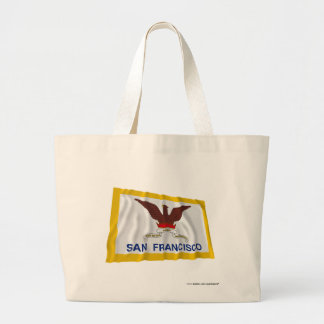 San Francisco Waving Flag Canvas Bag