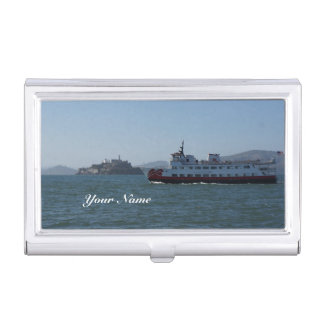 San Francisco Zalophus Ship Business Card Holder