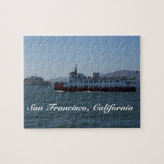 San Francisco Zalophus Ship Jigsaw Puzzle