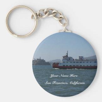 San Francisco Zalophus Ship Keychain