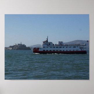 San Francisco Zalophus Ship Poster