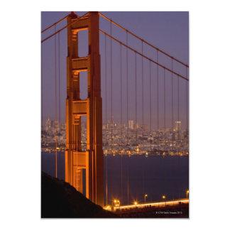San Franciscos North Tower 13 Cm X 18 Cm Invitation Card