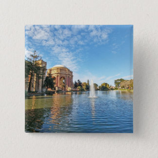 San Fransisco Palace of Fine Arts 15 Cm Square Badge
