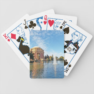 San Fransisco Palace of Fine Arts Bicycle Playing Cards