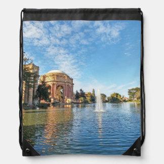 San Fransisco Palace of Fine Arts Drawstring Bag