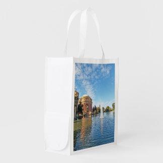San Fransisco Palace of Fine Arts Reusable Grocery Bag