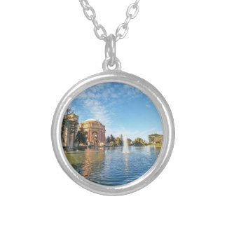 San Fransisco Palace of Fine Arts Silver Plated Necklace