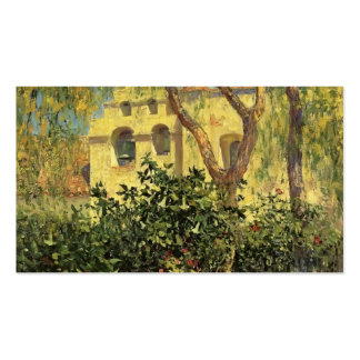 San Gabriel Mission by Guy Rose Business Card Template