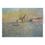 San Giorggio Maggiore - Claude Monet Greeting Card