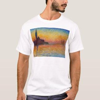 San Giorgio Maggiore at Dusk by Claude Monet T-Shirt