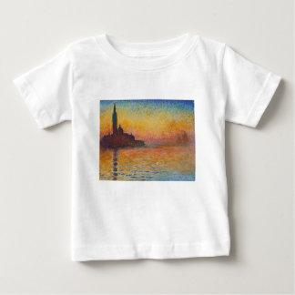 San Giorgio Maggiore at Dusk - Claude Monet Baby T-Shirt