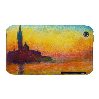 San Giorgio Maggiore at Dusk  Claude Monet iPhone 3 Case-Mate Case