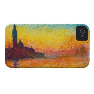San Giorgio Maggiore at Dusk  Claude Monet Case-Mate iPhone 4 Cases