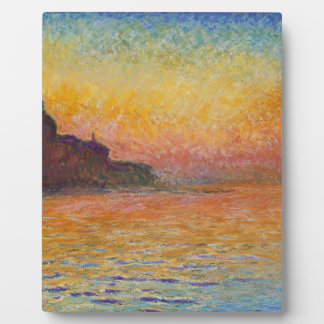 San Giorgio Maggiore at Dusk - Claude Monet Display Plaque