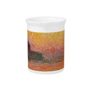 San Giorgio Maggiore at Dusk - Claude Monet Drink Pitchers