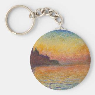 San Giorgio Maggiore at Dusk - Claude Monet Key Ring