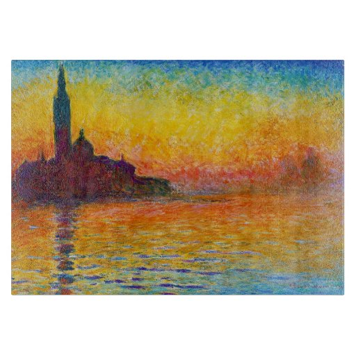 san giorgio maggiore at dusk claude monet painting. Black Bedroom Furniture Sets. Home Design Ideas