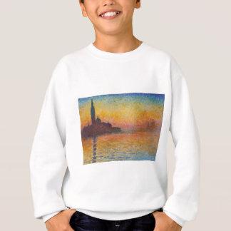 San Giorgio Maggiore at Dusk - Claude Monet Sweatshirt