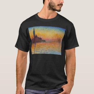 San Giorgio Maggiore at Dusk - Claude Monet T-Shirt