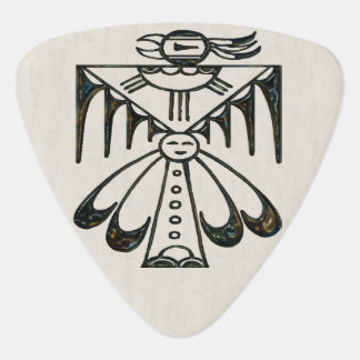 San Ildefonso Native American Guitar Pick