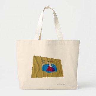 San Jacinto Flag Canvas Bag
