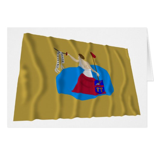 San Jacinto Flag Greeting Cards