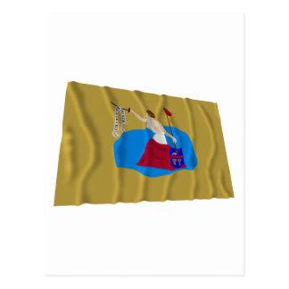 San Jacinto Flag Postcards