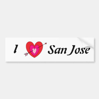 San Jose Bumper Sticker* Bumper Sticker