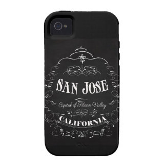 San Jose, California - Capital of Silicon Valley Case For The iPhone 4