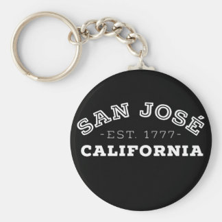 San Jose California Key Ring